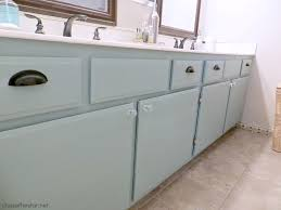 painted bathroom cabinet via chase the star duckegg chalkpaint