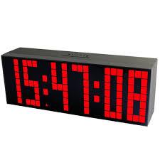 chihai multifunction led digital alarm countdown clock red