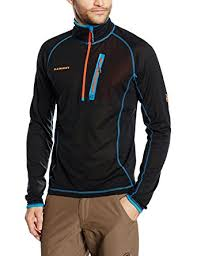 Mammut Eiswand Light Zip Pullover Long Sleeve Men S At Amazon