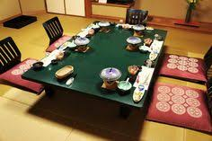 traditional japanese dinner table japan table and chairs zaisu for the home pinterest dining