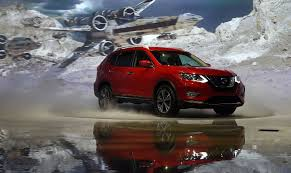 nissan rogue star wars nissan rogue debuts to starfighters and dancing stormtroopers la
