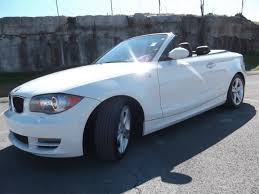nissan convertible white sold 2008 bmw 128i convertible 58k 3 0 v 6 white black top at