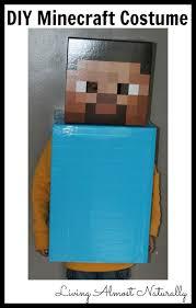 Steve Minecraft Halloween Costume Minecraft Printable Costume Steve Costume Creepers Costumes