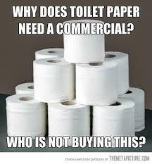 toilet paper funny commercial meme