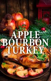 michael symon up a great apple bourbon turkey recipe for