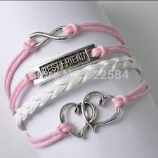 vintage infinity bracelet images Infinity bracelet love to heart leather charm bracelets best jpg