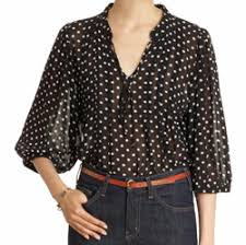 black polka dot blouse 7 stylish polka dot looks for fall