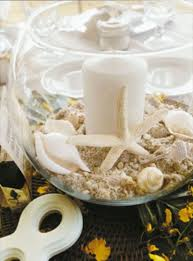 creative idea lovely beach seashell wedding table centerpieces