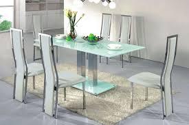 Black Glass Dining Room Sets Rectangular Glass Dining Table Vittorio Greggoti Walnut And Glass