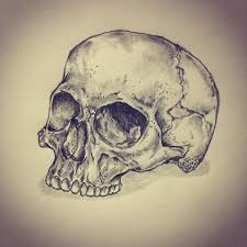 moon skull drawings and sketches pictures to pin on