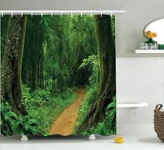 gallery pictures for jungle shower curtain