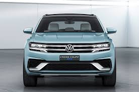 volkswagen van front view volkswagen cross coupe gte concept for detroit previews u s suv look