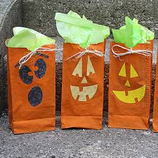 treat bags o lantern treat bags crafts by amanda