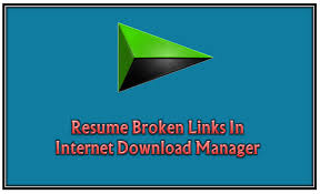 Resume File Download How To Resume Broken Expired File Downloads In Idm