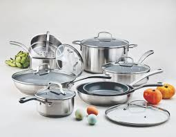 my culinary science cookware collection at macy s the martha i am so proud of my new martha stewart collection culinary science cookware this 14 piece set includes a 1 5 quart saucepan with lid a 2 5 quart saucepan