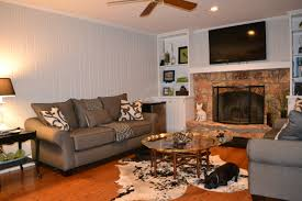 decoration attractive paint wood paneling with sofa and coffee