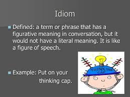 figuring out figurative language idiom metaphor simile and