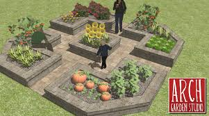 view vegetable garden design raised beds design ideas modern