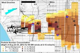 Los Angeles Airport Terminal Map by News Release Research Raises New Concerns About Air Pollution