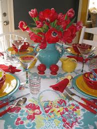 kitchen colors love the red and turquoise would add pops of