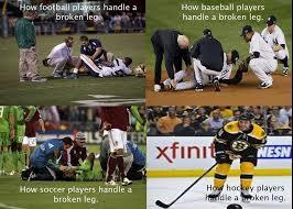 Soccer Hockey Meme - hockey players vs soccer players google search my style