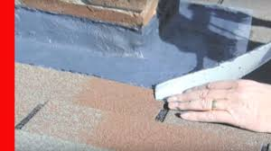 how to fix leaks chimney flashing repair youtube