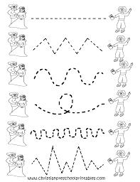 Handwriting Worksheets 4th Grade Tracing Pages Preschool Boxfirepress