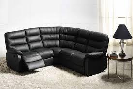 canape angle cuir relax electrique canape relax electrique d angle 5 places cameo noir 3500 l 240 x h