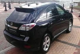 lexus rx 350 uk left drive lexus rx 350 n 7627