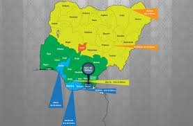 Map Of Nigerian States by Faac Report U2013 Revenue Allocation To States And Lga For December