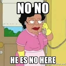 Consuela Meme - no no he es no here family guy consuela meme generator