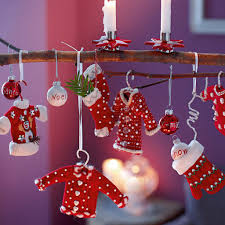 interior attractive christmas tree oranments decoration ideas