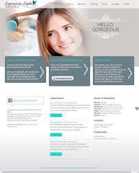 web design u0026 branding signature style salon land o lakes wi