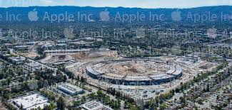 apple park campus 2 construction progress timeline new photos