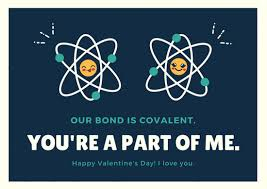 geeky valentines cards navy blue and teal atoms geeky valentines card templates by