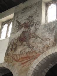 medieval wall paintings in churches elizabeth ashworth author st