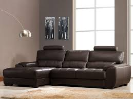 canap d angle vente unique canapé d angle cuir supérieur 4 coloris metropolitan ii