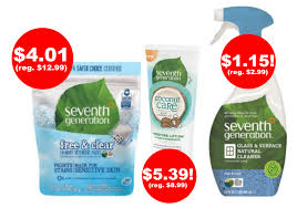 Seventh Generation Bathroom Cleaner 3 New Seventh Generation Target Coupons Deals On Laundry