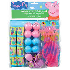 peppa pig party supplies peppa pig party supplies mega mix value pack 48pc party favors