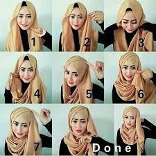 tutorial hijab syar i untuk pernikahan salah satu tutorial yang bisa dipakai ketika wisuda atau datang ke