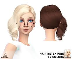 miss paraply alesso s hairstyle retextured sims 4 hairs http