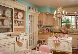 cuisine style romantique cuisine shabby chic pour un décor chaleureux et romantique