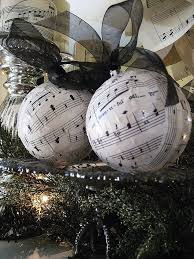 Inexpensive Christmas Decorations Easy And Inexpensive Christmas Decorations From Sheet Music