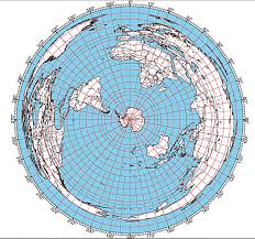 World Map Equator by A New Flat Earth Model