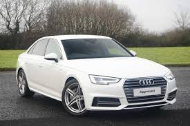 audi a4 white 2017 used 2017 audi a4 2 0 tdi 190 s line 4dr s tronic for sale in kent