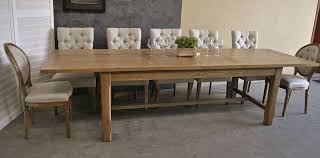 Refectory Dining Tables Large French Provincial Style Oak Extension Refectory Dining Table