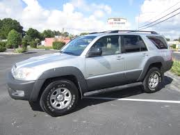 toyota inc sold 2003 toyota 4runner sr5 2wd meticulous motors inc florida for