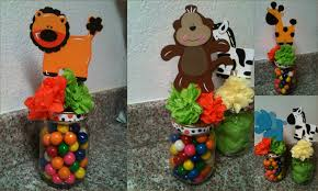 jar centerpieces for baby shower safari baby shower centerpieces ideas omega center org ideas