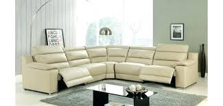 Leather Motion Sectional Sofa Leather Sectional Recliner Sofa Adrop Me