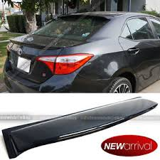 2001 toyota corolla spoiler for 14 17 corolla acrylic rear window roof window visor spoiler